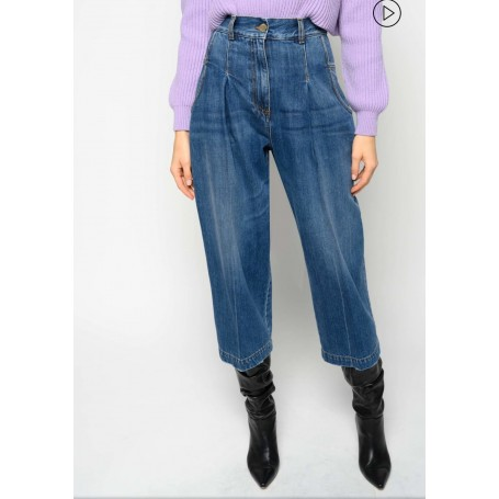 PINKO jeans culotte PENNY 1 STRAIGHT CROPPED