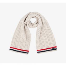 SUN68 scarf UOMO cable BIANCO PANNA