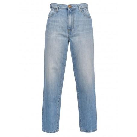 PINKO jeans FLEXY MADDIE MOM blue denim vintage
