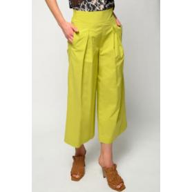 PINKO pantalone TESO 4 in cotone LIME