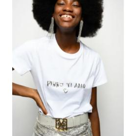PINKO t-shirt ARNOLD 5 WHITE